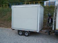 carrello 2 assi trasporto kart-moto-quad.