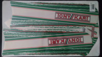 Kit adesivi originali OTK Tony Kart per 60cc