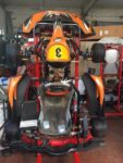KART SPIRIT con freni anteriori completo di motore THUNDER MONOMARCIA con avviamento TAG. PRONTO PISTA
